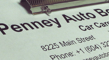 Penney Auto Body is ICBC accredited